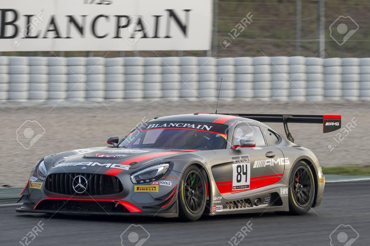 Mercedes AMG GT3. Blancpain GT Series Championship At Circuit ...