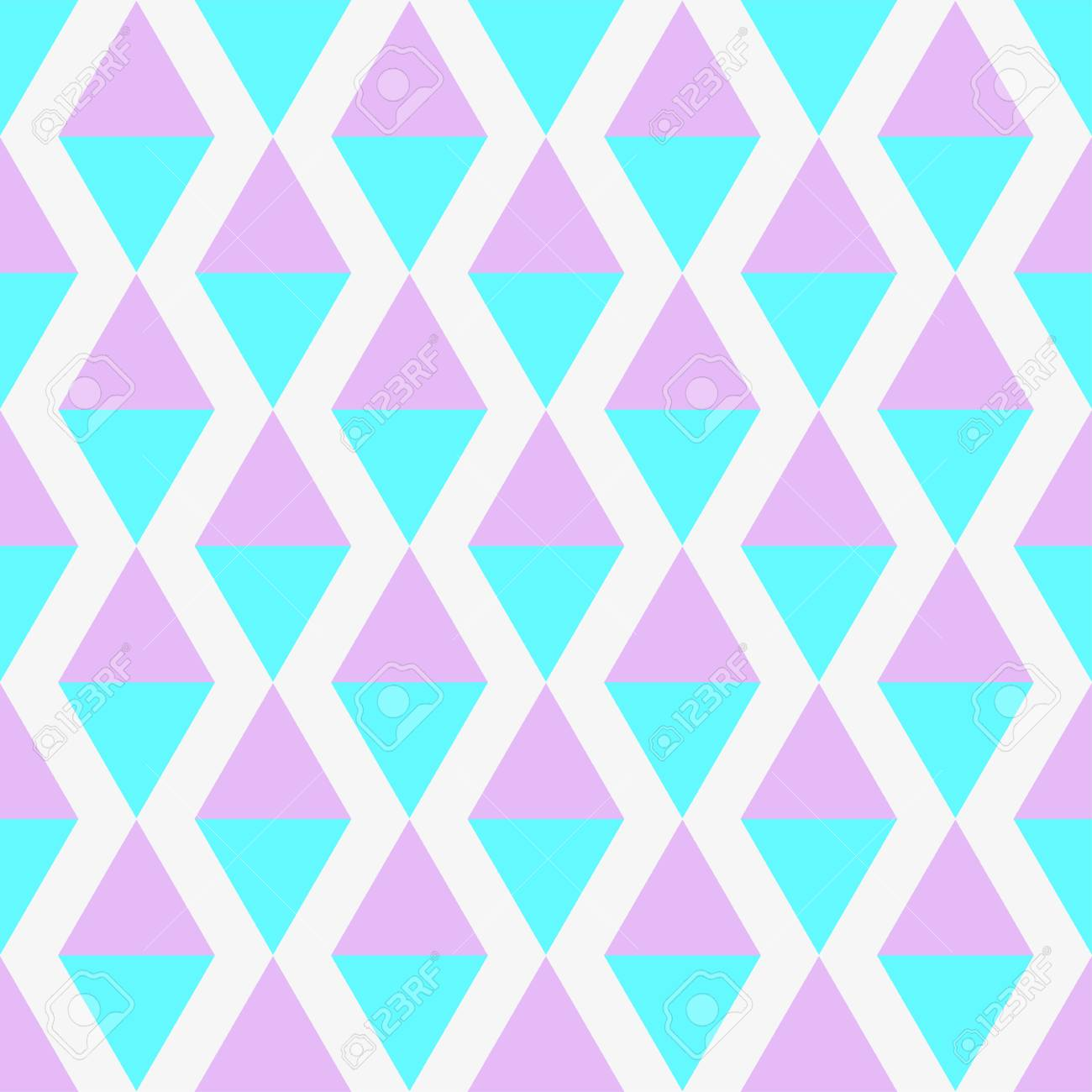 Seamless multicolored pattern. Abstract geometric wallpaper of the surface. Cute background. Pastel colors