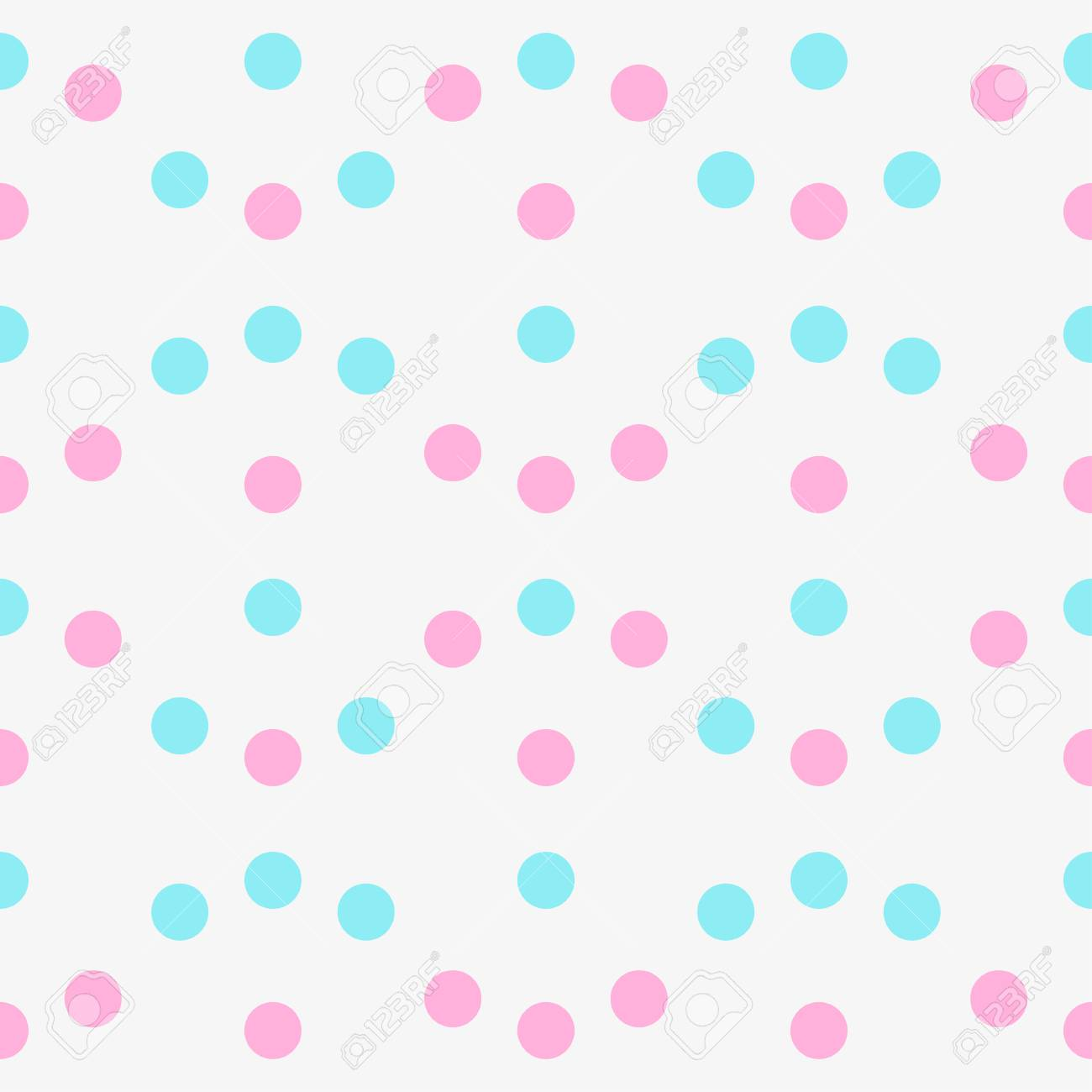 Seamless Multicolored Pattern Abstract Geometric Wallpaper Of
