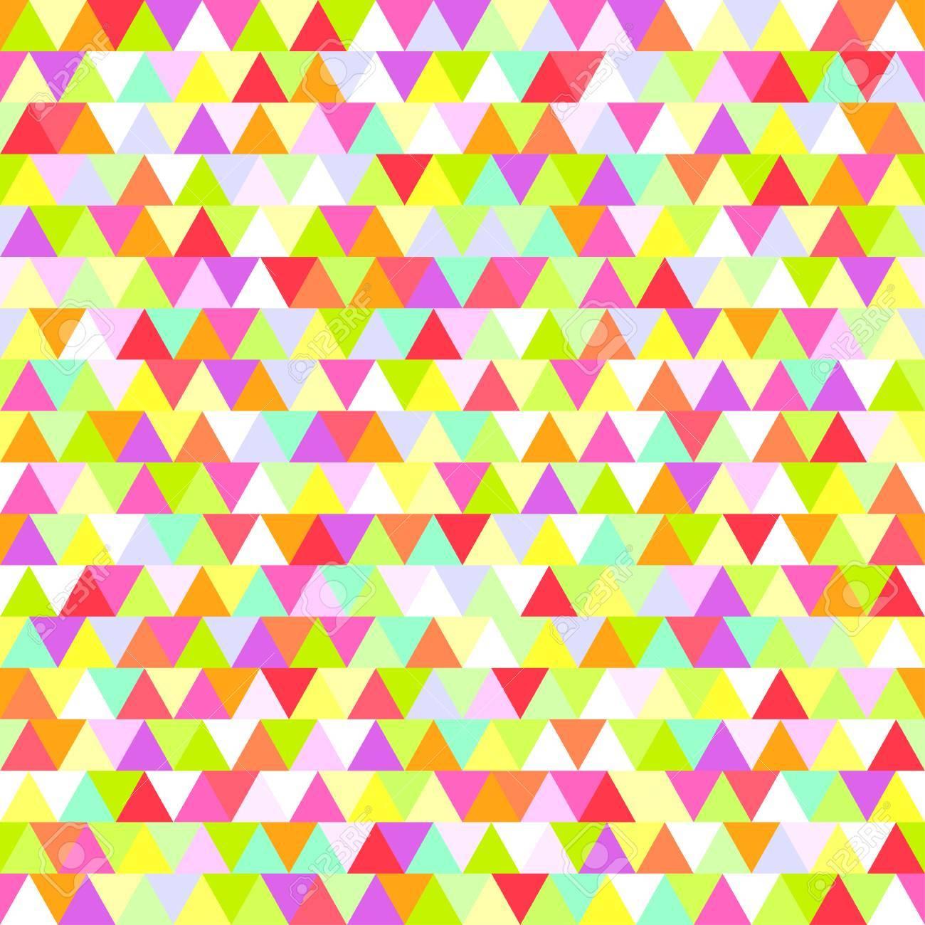シームレスな三角形のパターン 表面の抽象的な幾何学的な壁紙