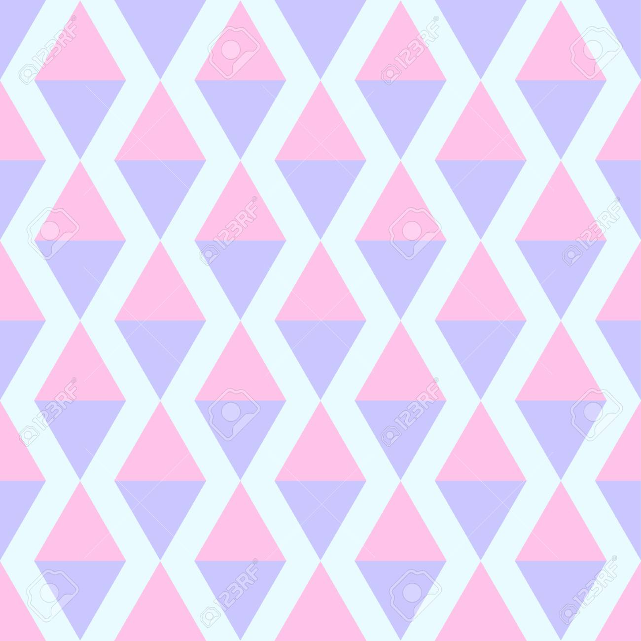 852df8b16bd9 Seamless multicolored pattern. Abstract geometric wallpaper of the surface.  Cute background. Pastel colors