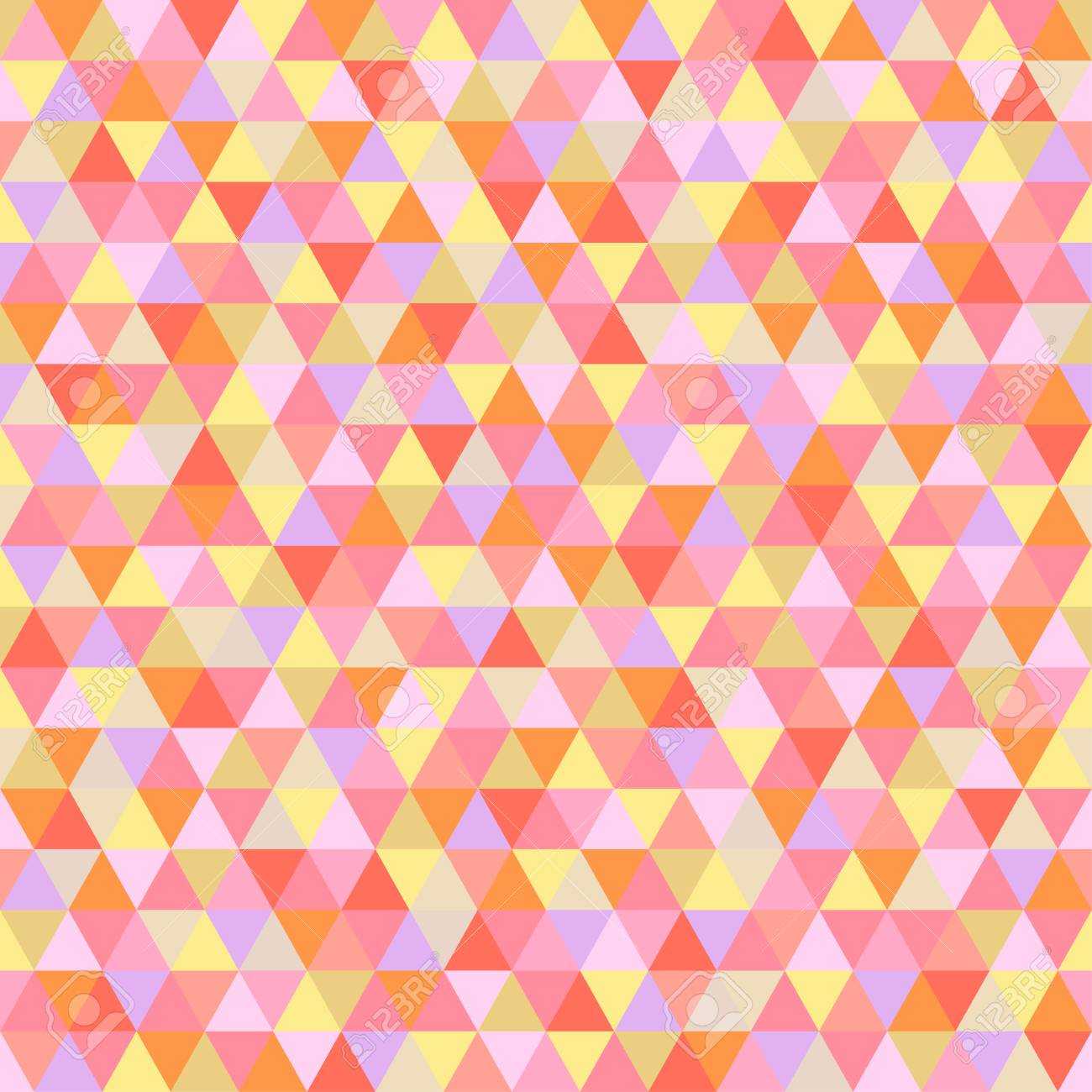 95888861 seamless triangle pattern abstract geometric wallpaper of the surface cute background bright colors