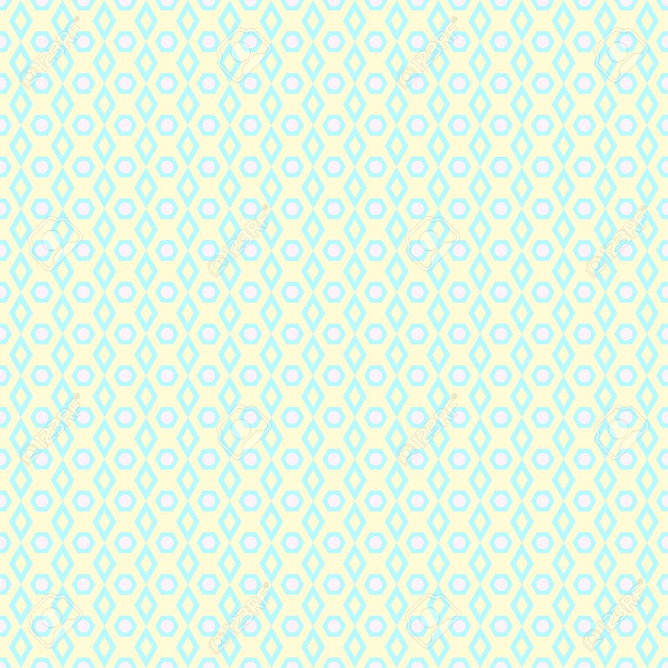 Seamless Background Abstract Geometric Wallpaper With Simple