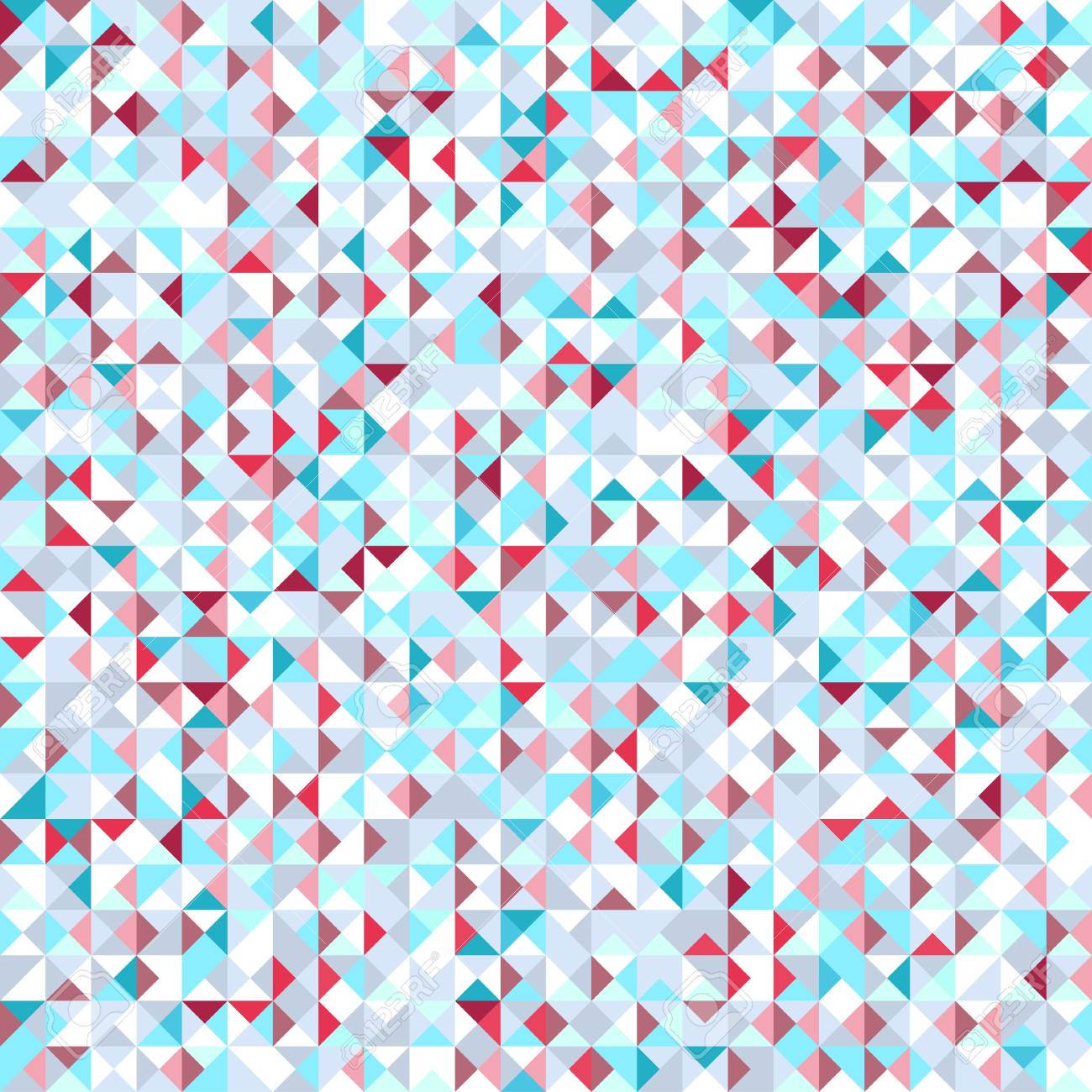 Seamless Triangle Pattern Abstract Geometric Wallpaper Of The