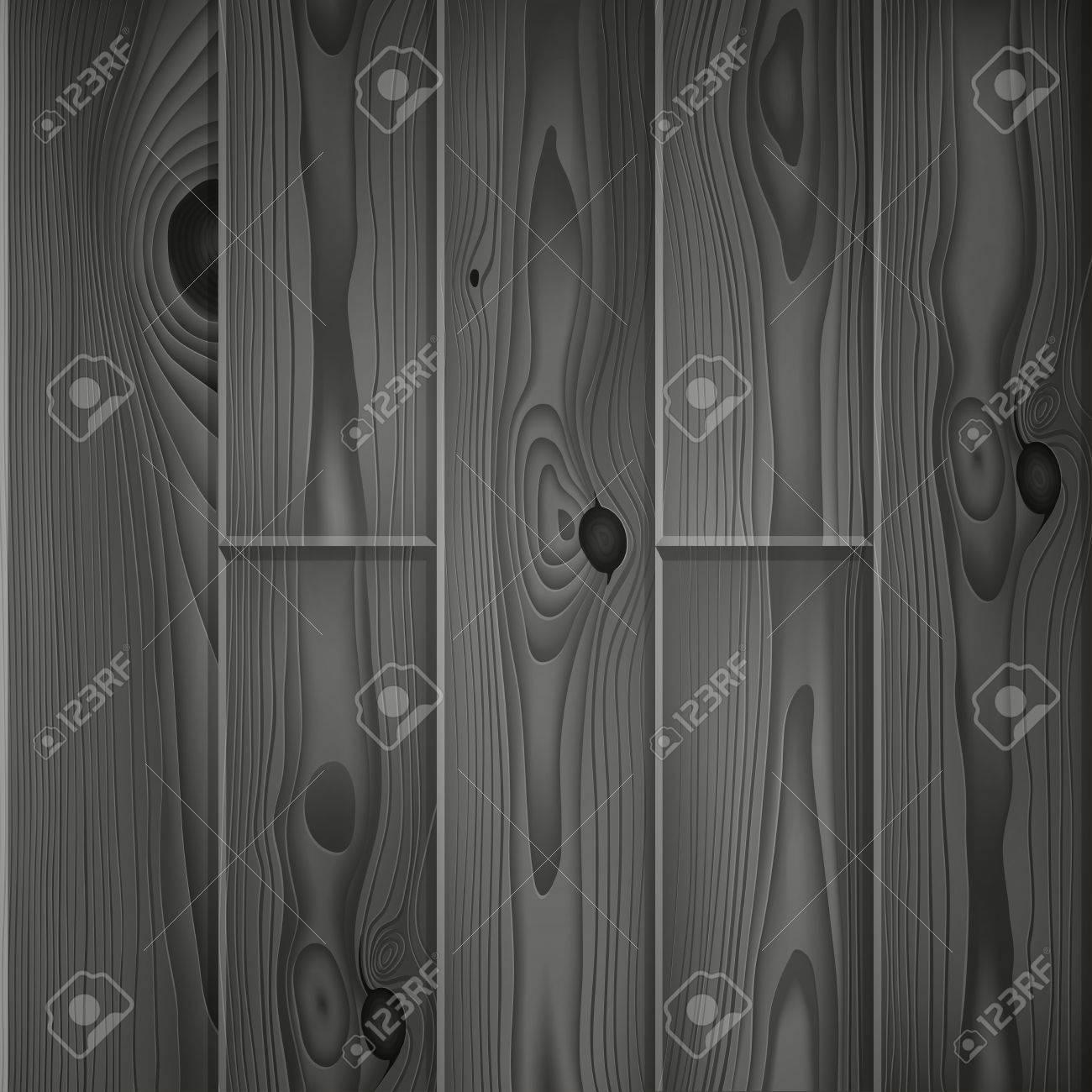 Réaliste Foncé Planches De Bois Gris Texture Vintage Parquet En