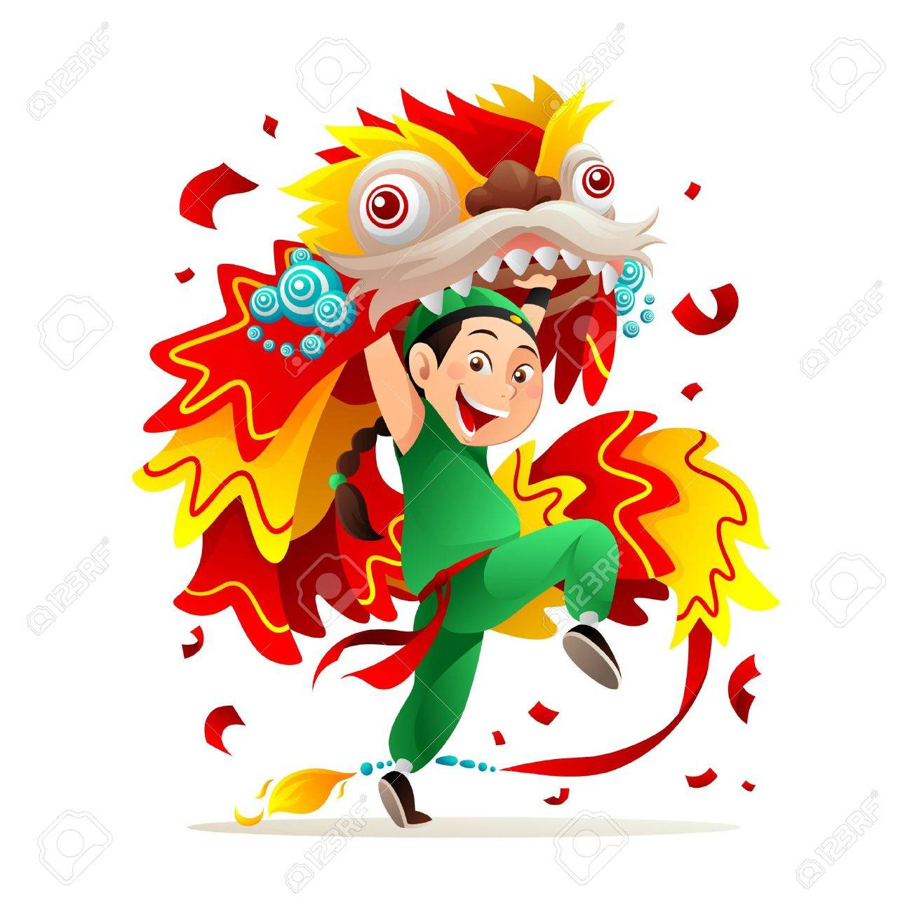 Chinese new year celebration Stock Vector - 8687512