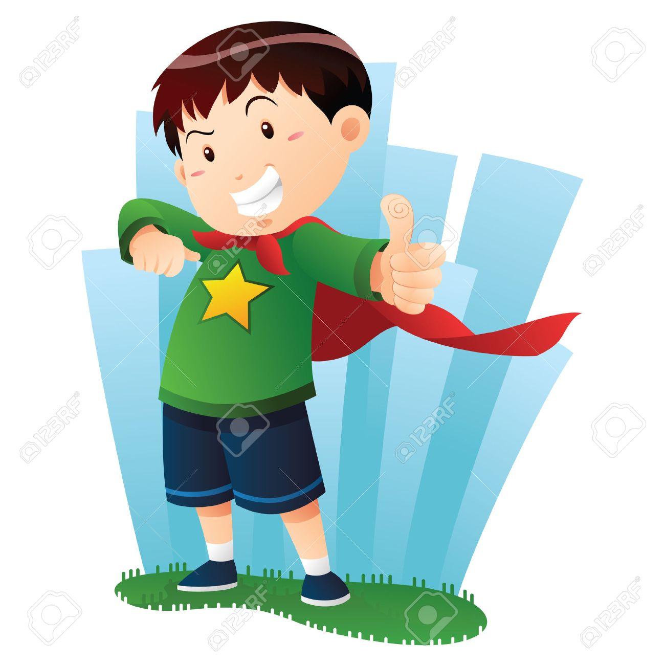 Action Boy Stock Vector - 10416692
