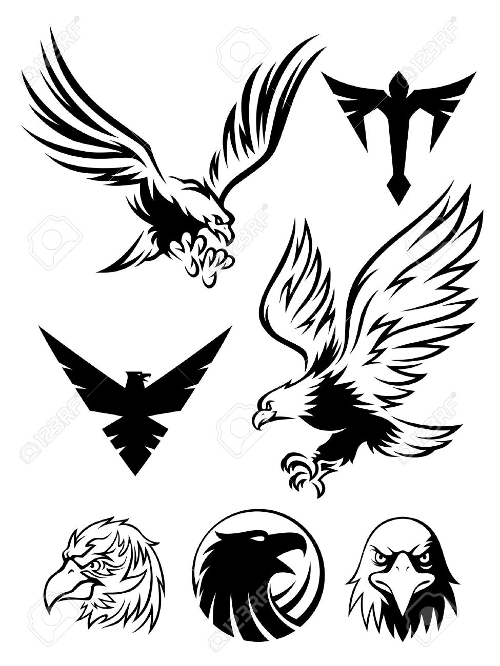 4,786 Eagle Head Cliparts, Stock Vector And Royalty Free Eagle ...