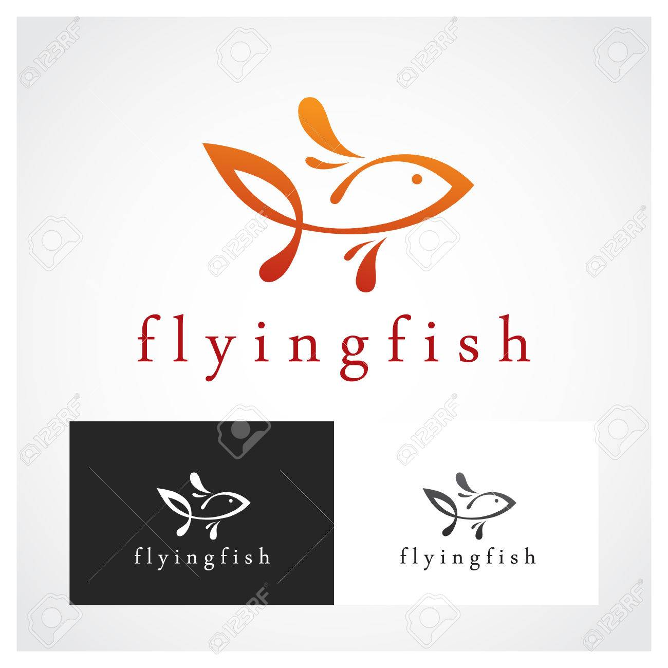 Fish Symbol Suitable For Professional Design Use Royalty Free