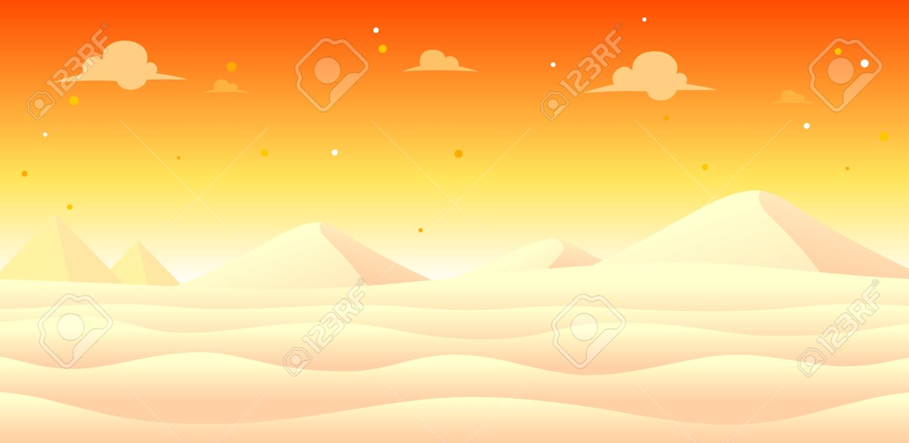 Snow Evening Game Background. Suitable for side scrolling, action, and adventure game. Stock Vector - 67810057