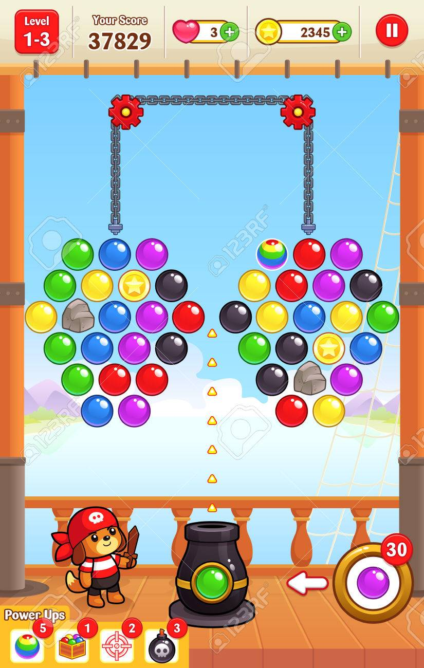 free bubble game