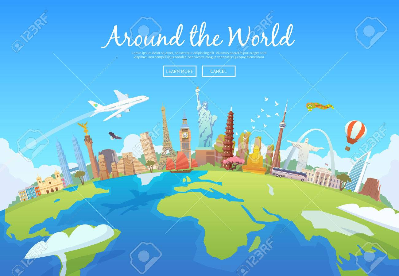 Travel to World. - 55671785