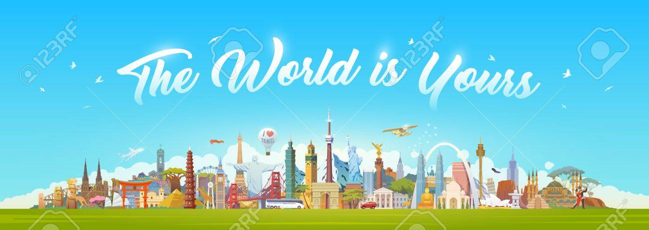 Travel to World. - 86178635