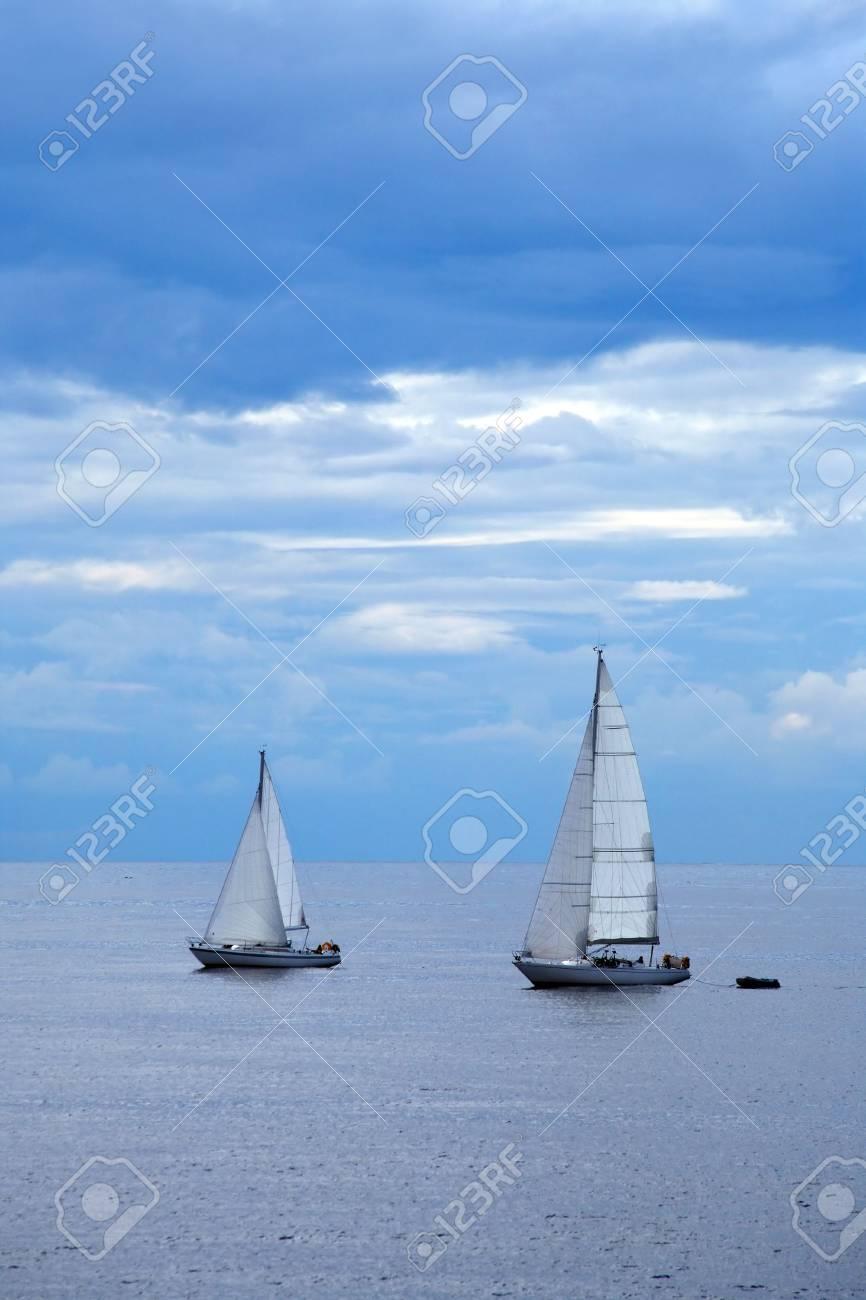 Sailboat in sweden Stock Photo - 3449869