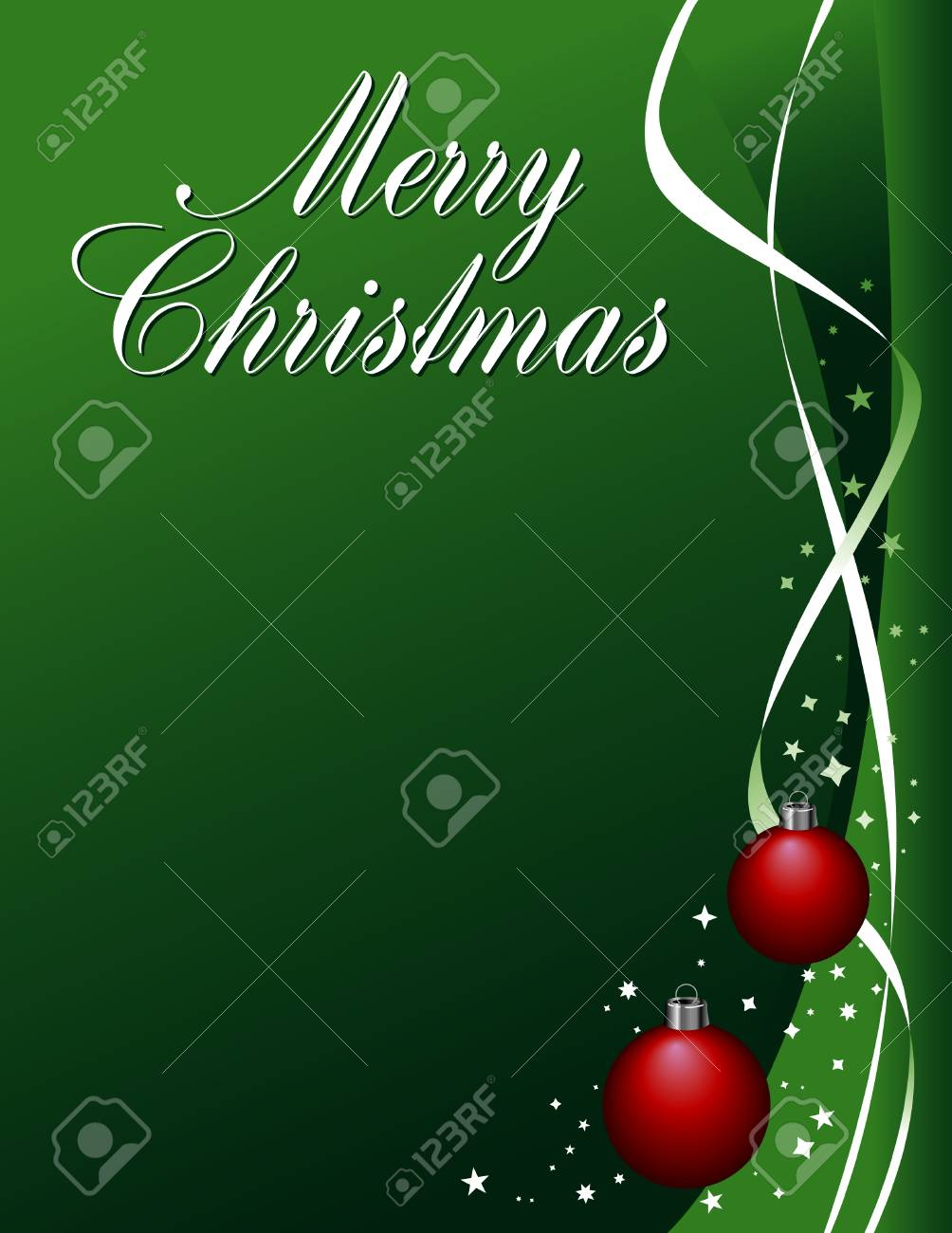 A Merry Christmas vector winter holiday background Stock Vector - 4198032
