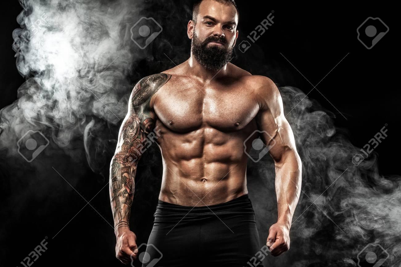 Tatouage Homme Noir