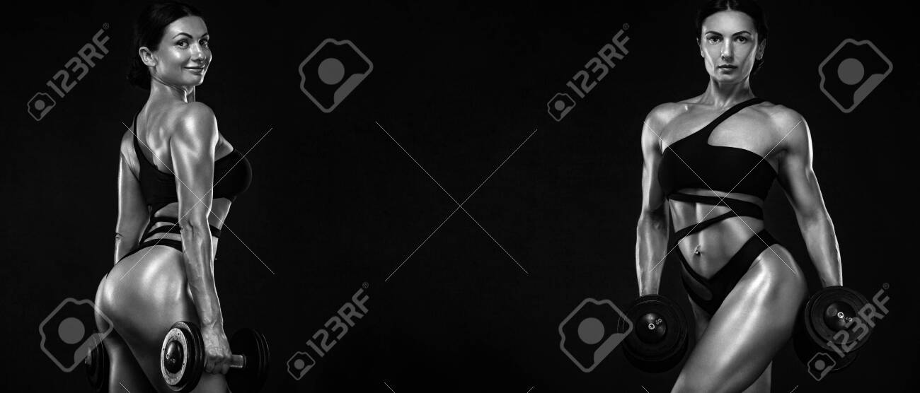Two Sporty And Fit Women Athletes Bodybuilders Workout And Stock Photo Picture And Royalty Free Image Image 127162625 #fitspiration #motivation #fit women #fitbit #fitfam #fitspo #sportnutrition #healthy #sportday #fitblr #sportwear #sport #sport news #sportive #sports #online. two sporty and fit women athletes bodybuilders workout and