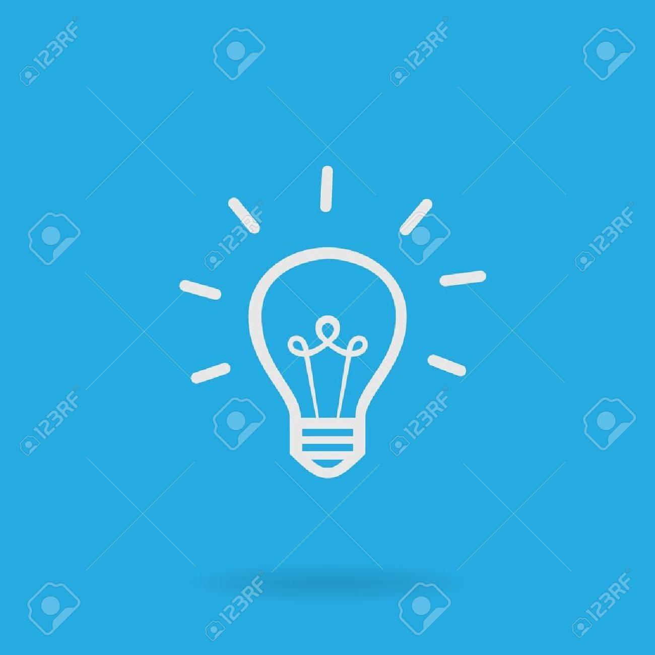 Light bulb icon - 13917068