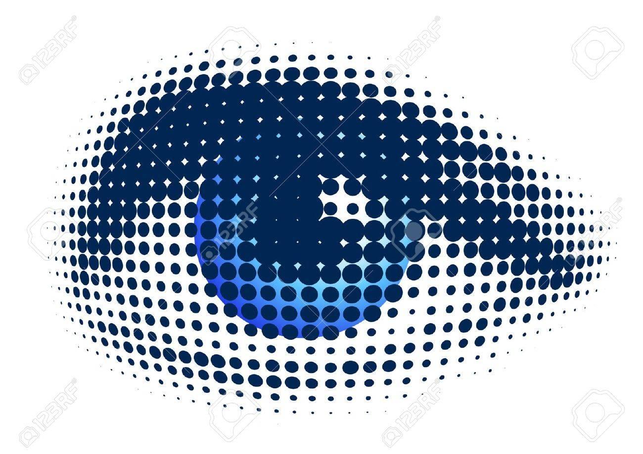 blue eye Stock Vector - 12284707