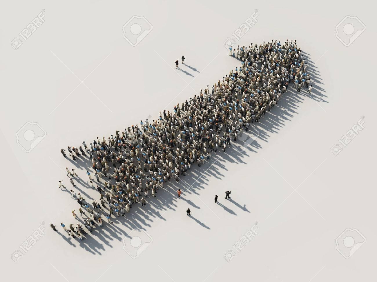 arrow of crowds - 45363398