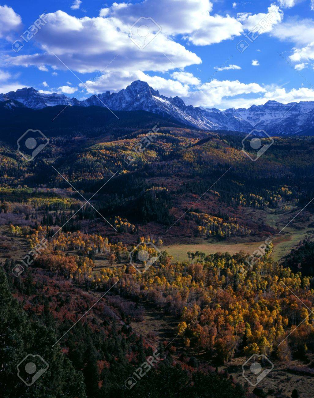 Mt. Sneffels in the Uncompahgre National Foreast, Colorado. Stock Photo - 2162818
