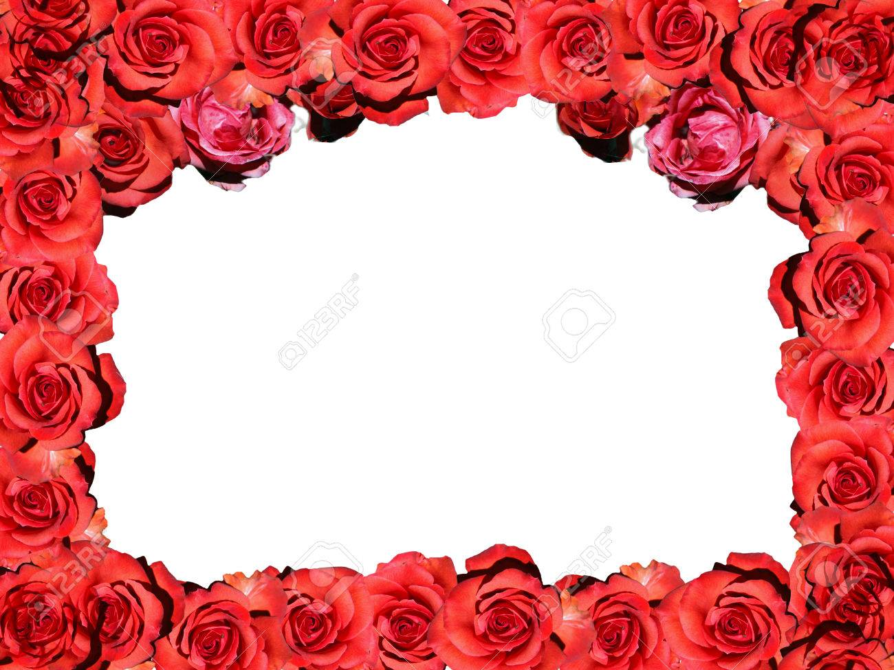 Frame: Red Roses - Symbol Picture Love / Valentine / Frame: Red ...