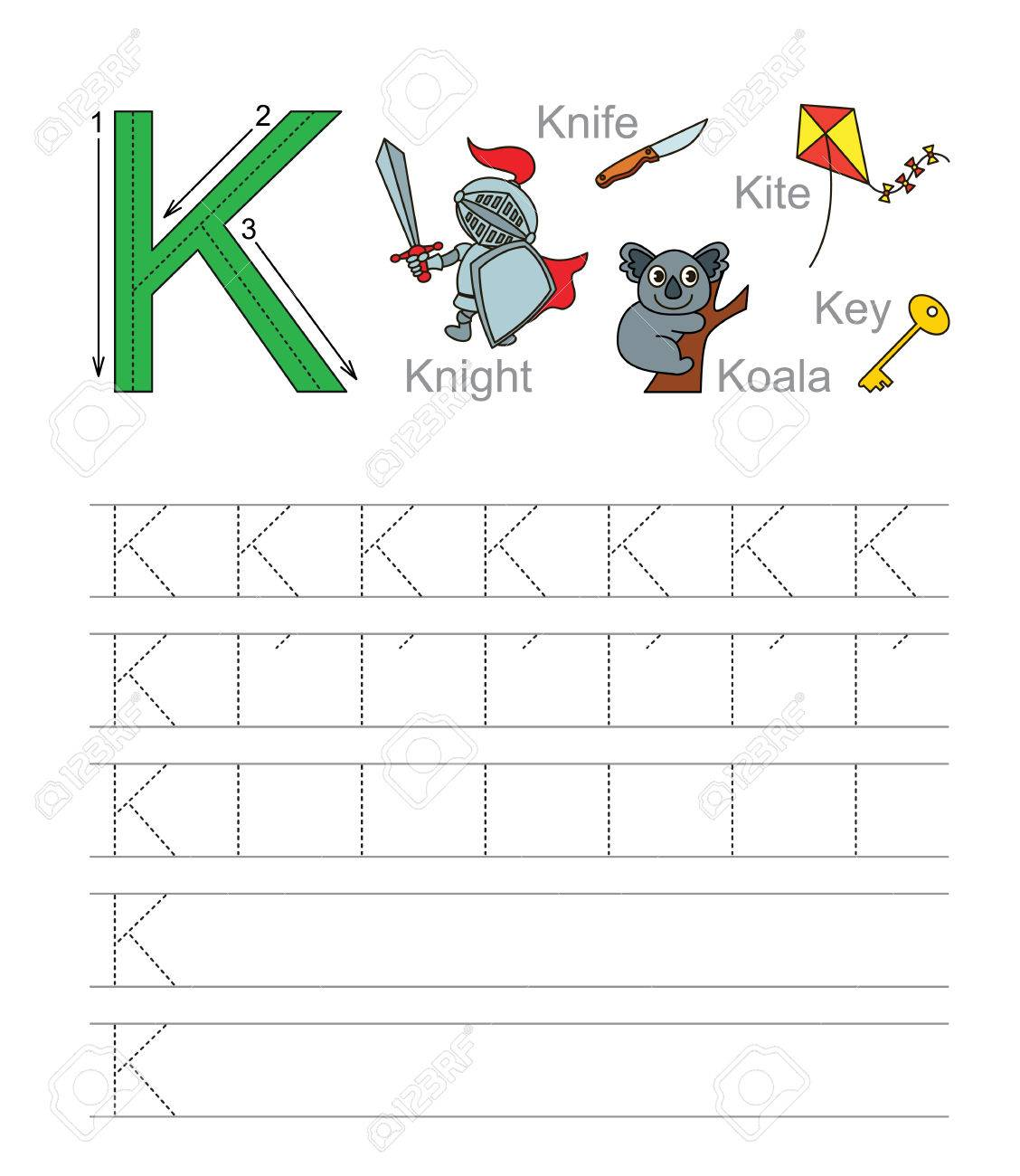 Attractive Pre K Handschrift Arbeitsblätter Images - Kindergarten ...
