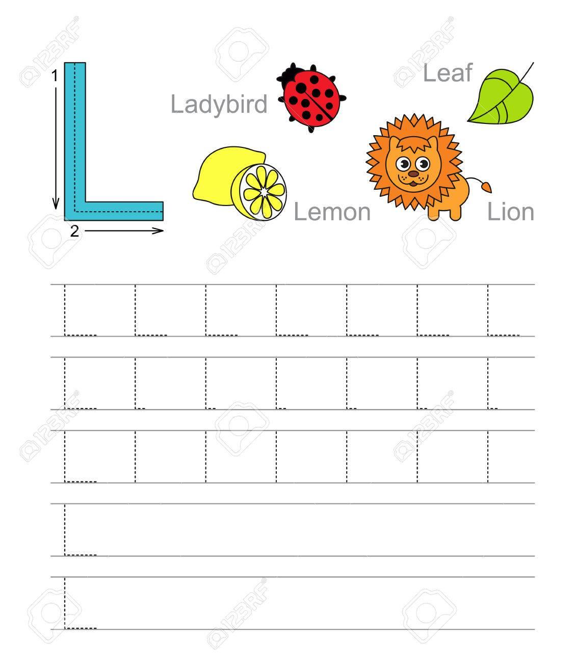 Perfect Tracing Brief Arbeitsblatt Collection - Kindergarten ...