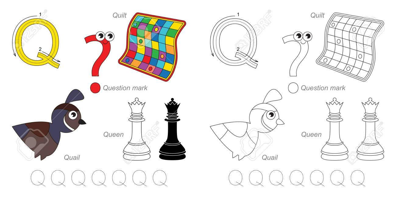 Outstanding Buchstaben Q Tracing Arbeitsblatt Pictures ...