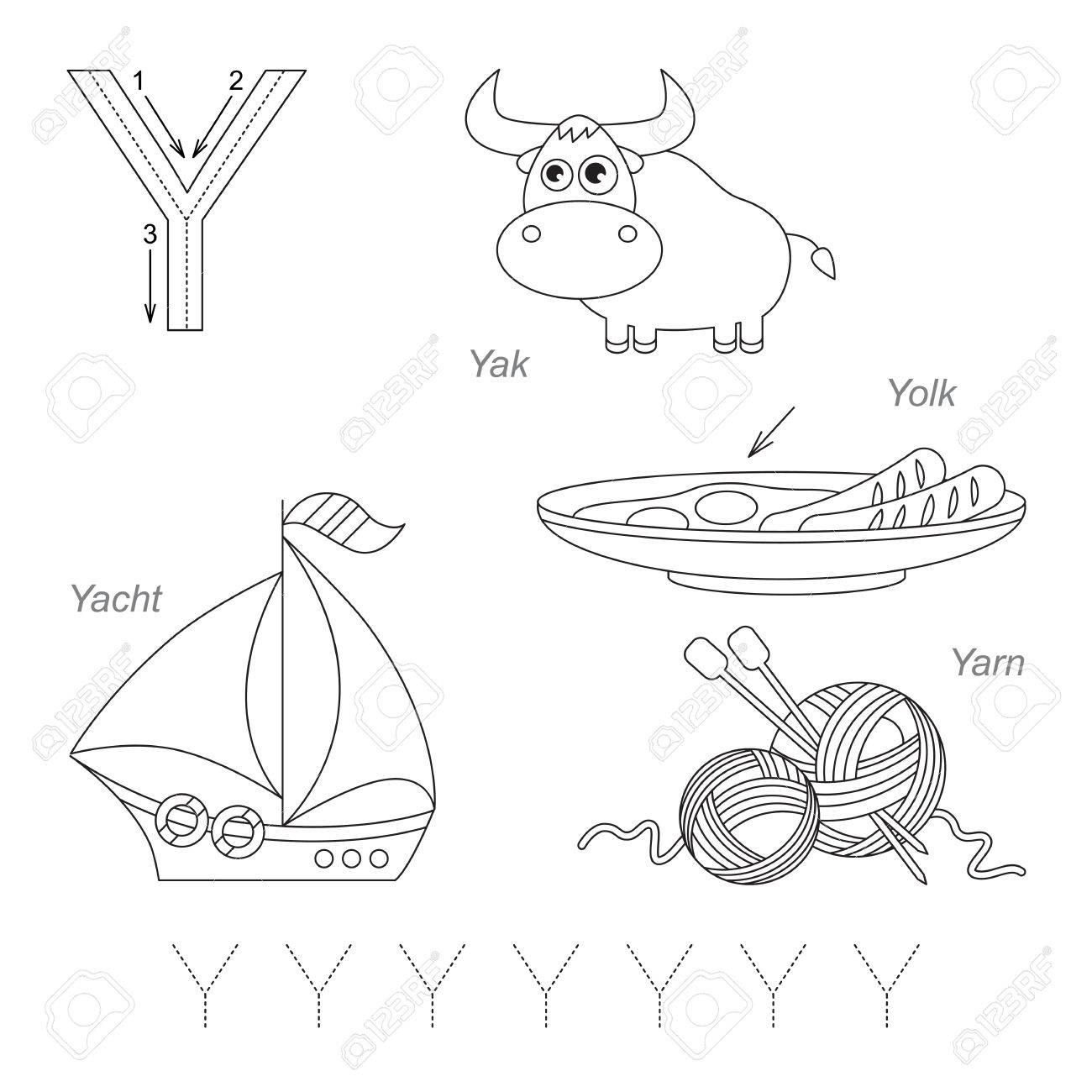 Contemporary Letter Y Arbeitsblatt Tracing Images - Kindergarten ...