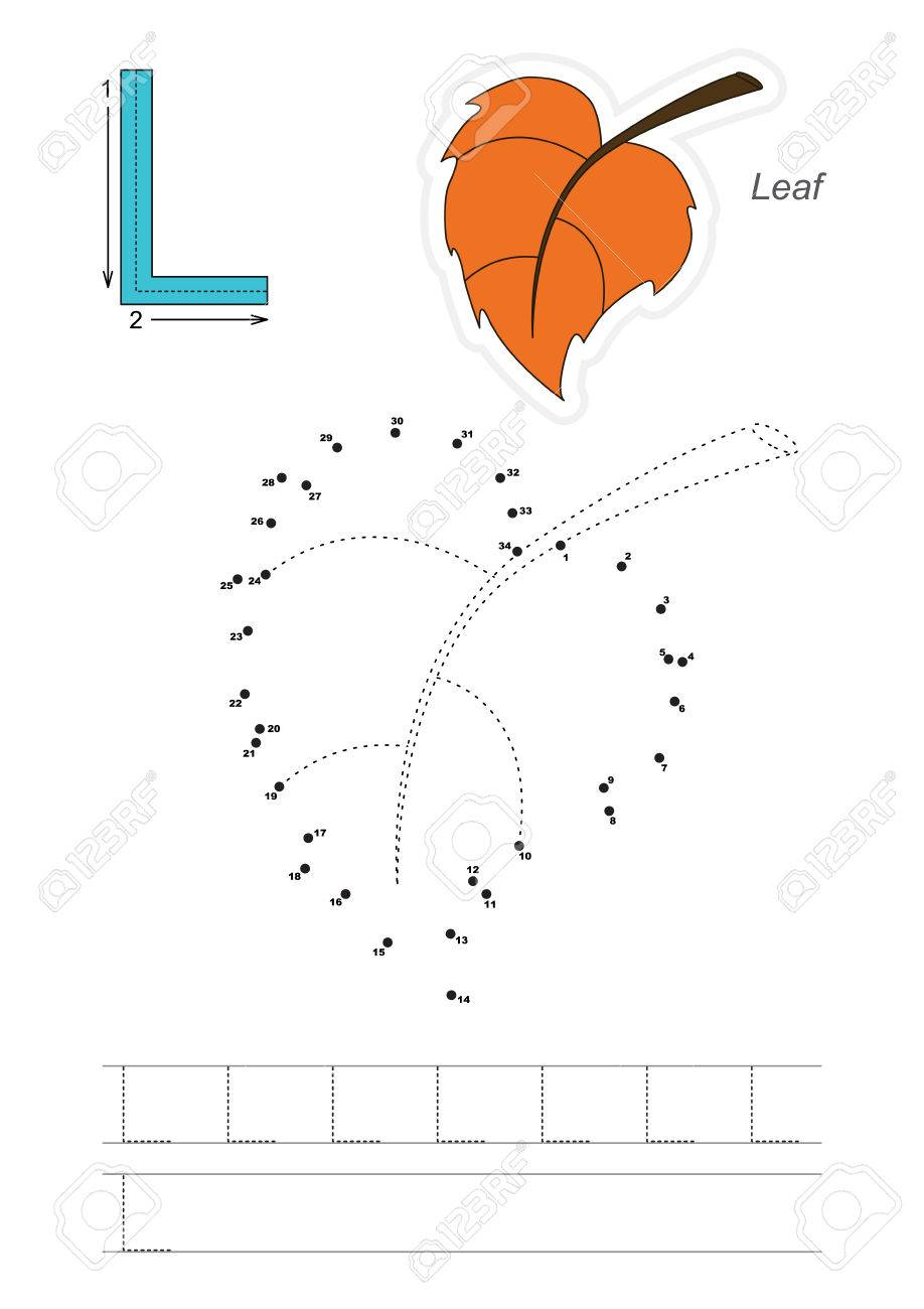 vector exercise illustrated alphabet learn handwriting connect