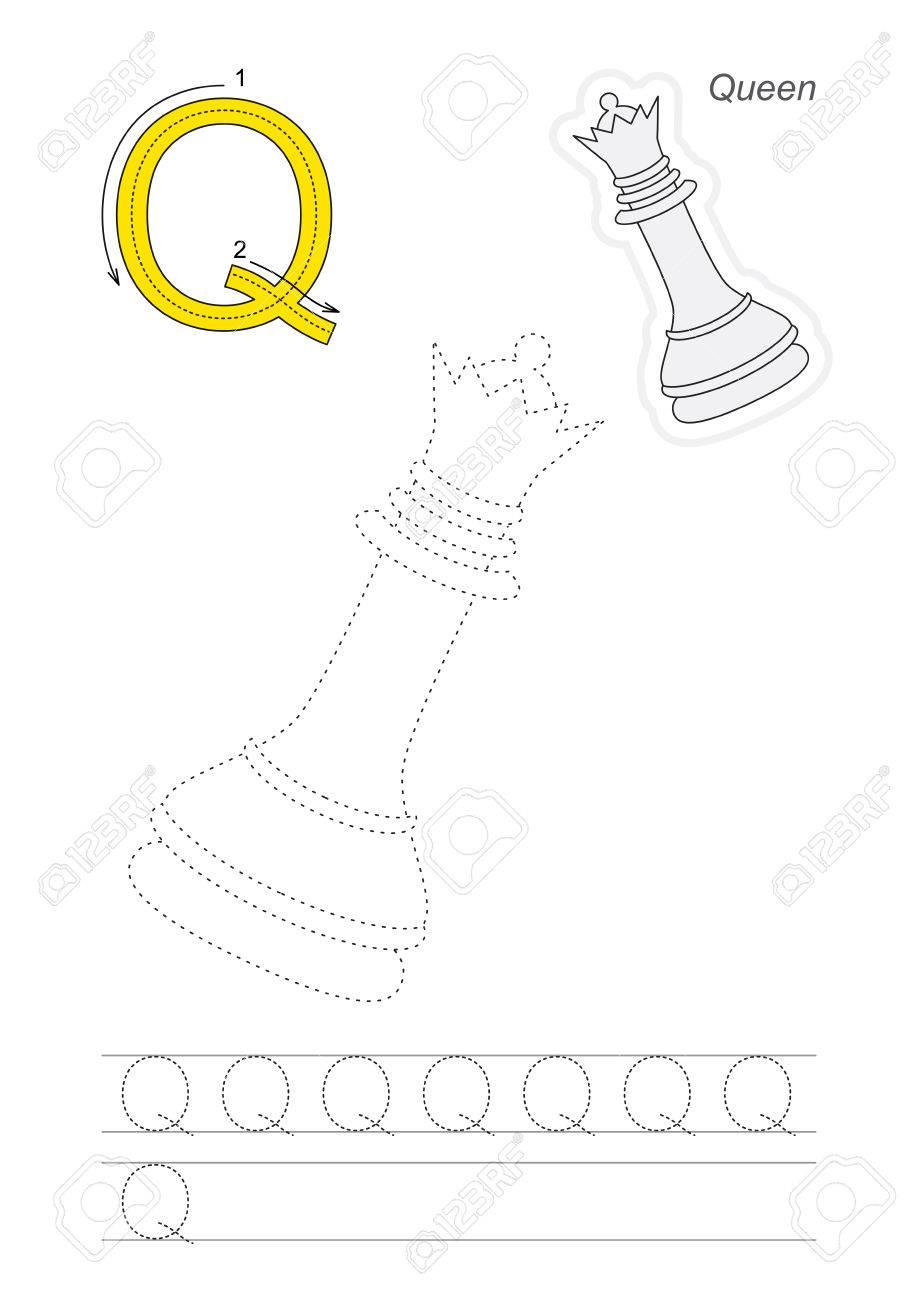 Berühmt Buchstaben Q Tracing Arbeitsblatt Ideen - Super Lehrer ...