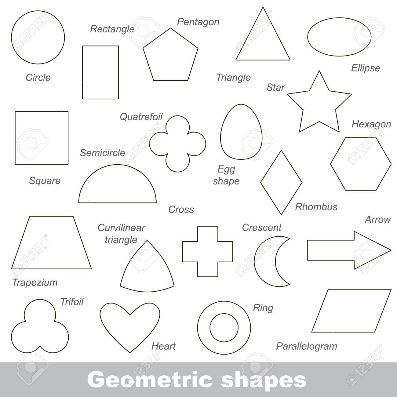 26   Cool Simple Geometric Shapes for Simple Geometric Shapes Worksheets  53kxo