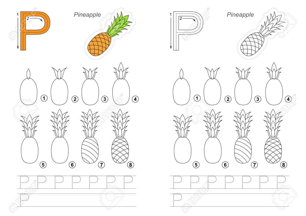 Vecteur Complet Illustré Alphabet Avec Jeux Denfants Apprenez Lécriture éducatif Facile Jeu Denfant Niveau Simple De Difficulté Gaming Et De