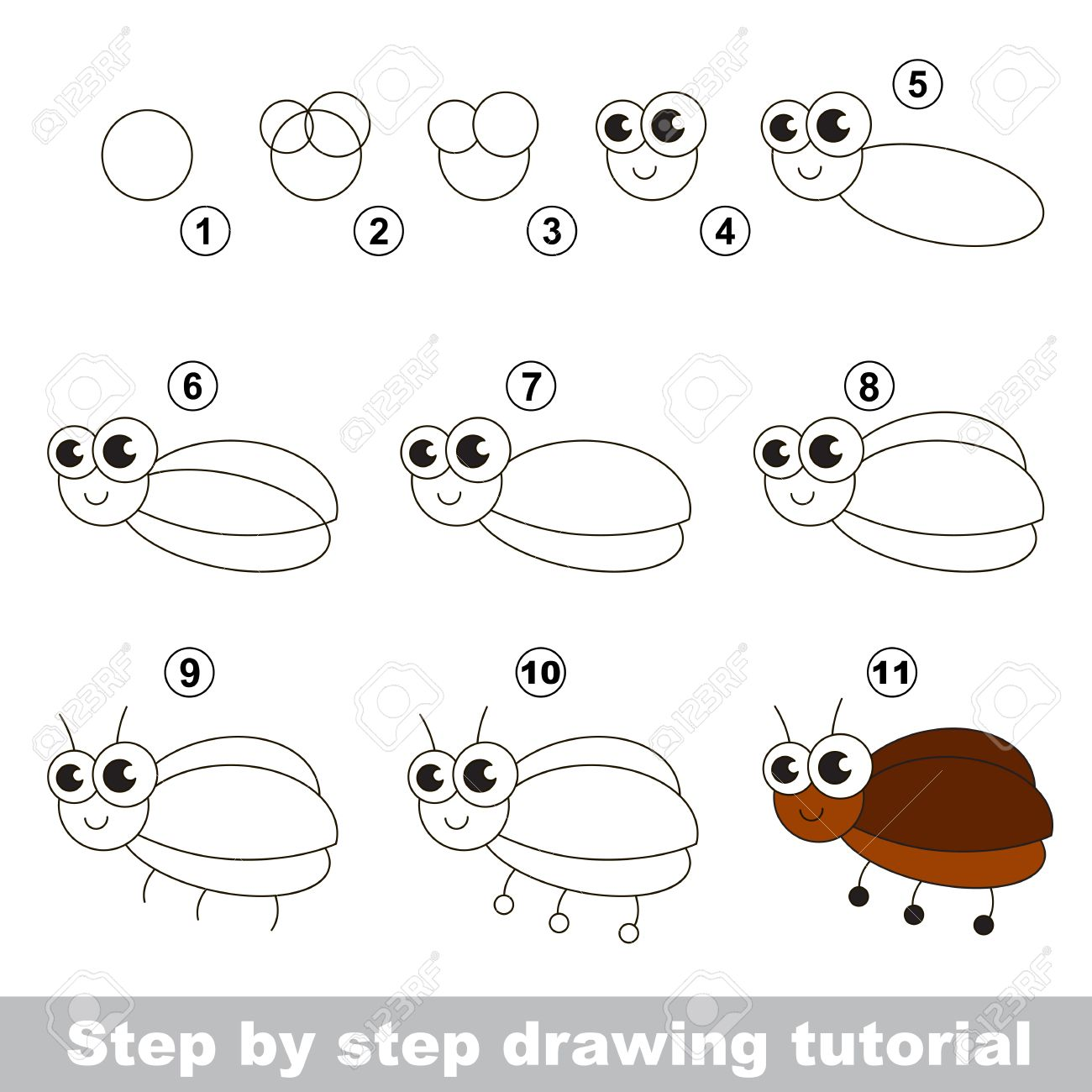 drawing tutorial for children easy educational kid game simple level of difficulty kid - Simple Drawing Pictures For Children