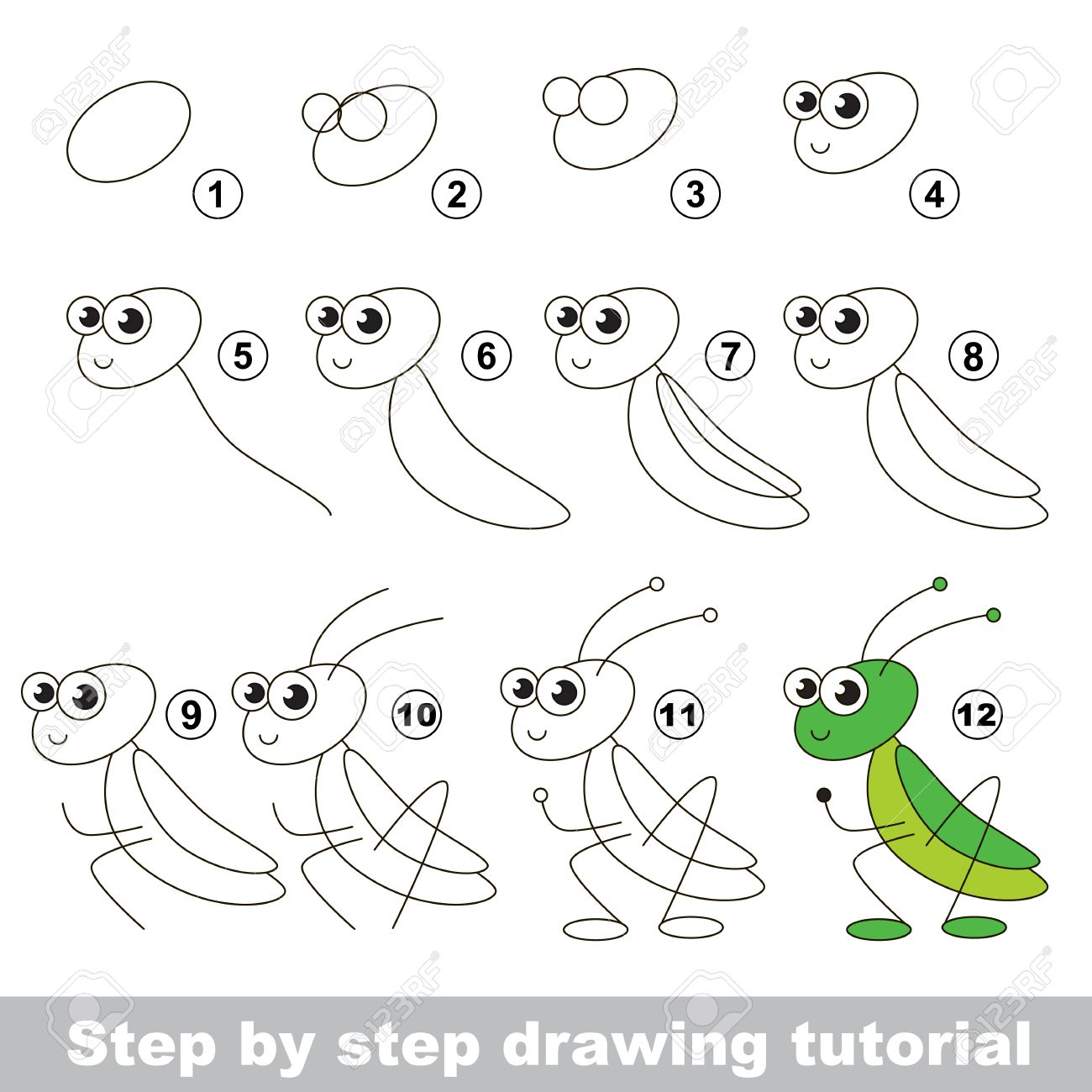 Drawing Tutorial For Children Easy Educational Kid Game Simple