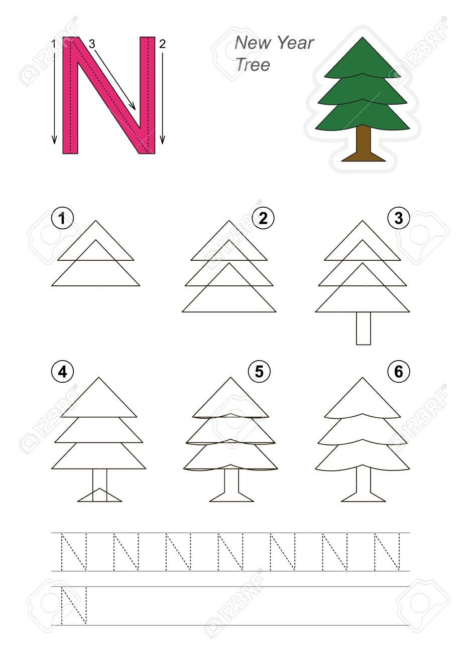 Vector El Alfabeto Ilustrado Con Los Juegos Educativos Del Nino Para