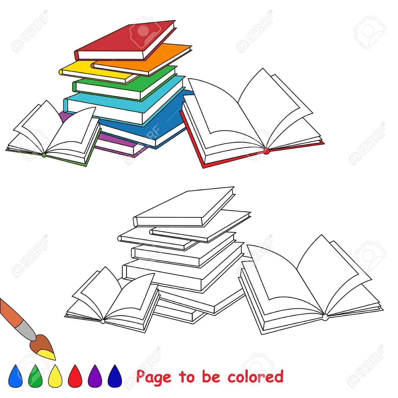 Muchos Libros Para Colorear El Libro Para Colorear Para Educar A Los Niños En Edad Preescolar Con Juegos Educativos Fáciles Para Niños Y