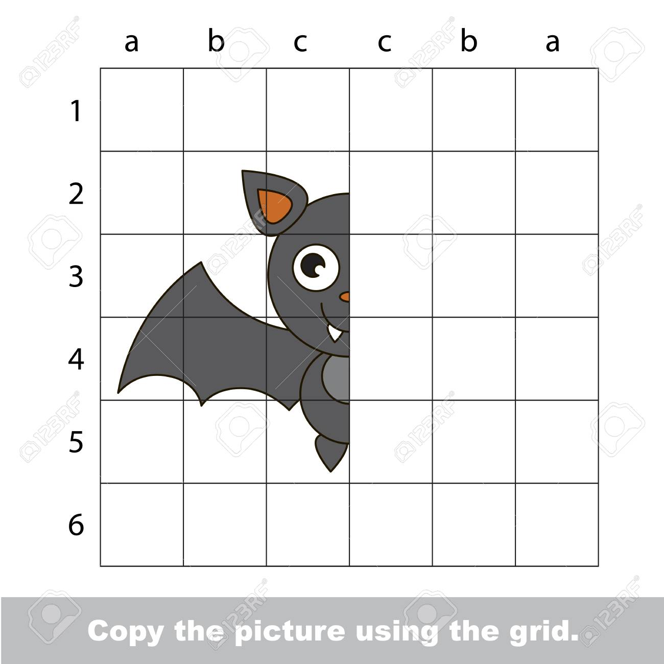 Vector Kid Educational Game With Easy Game Level For Preschool