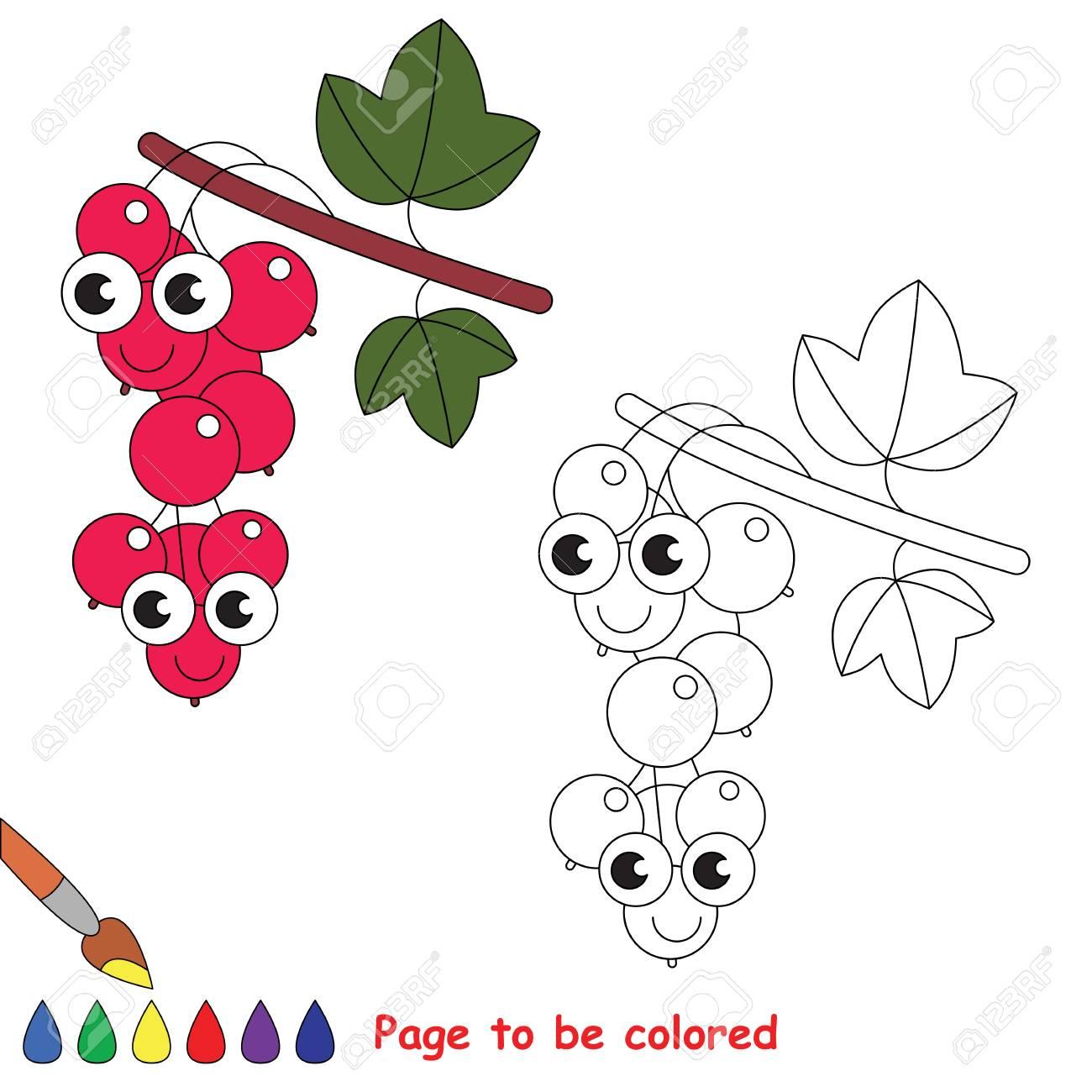 Malvorlage Johannisbeere  Coloring and Malvorlagan