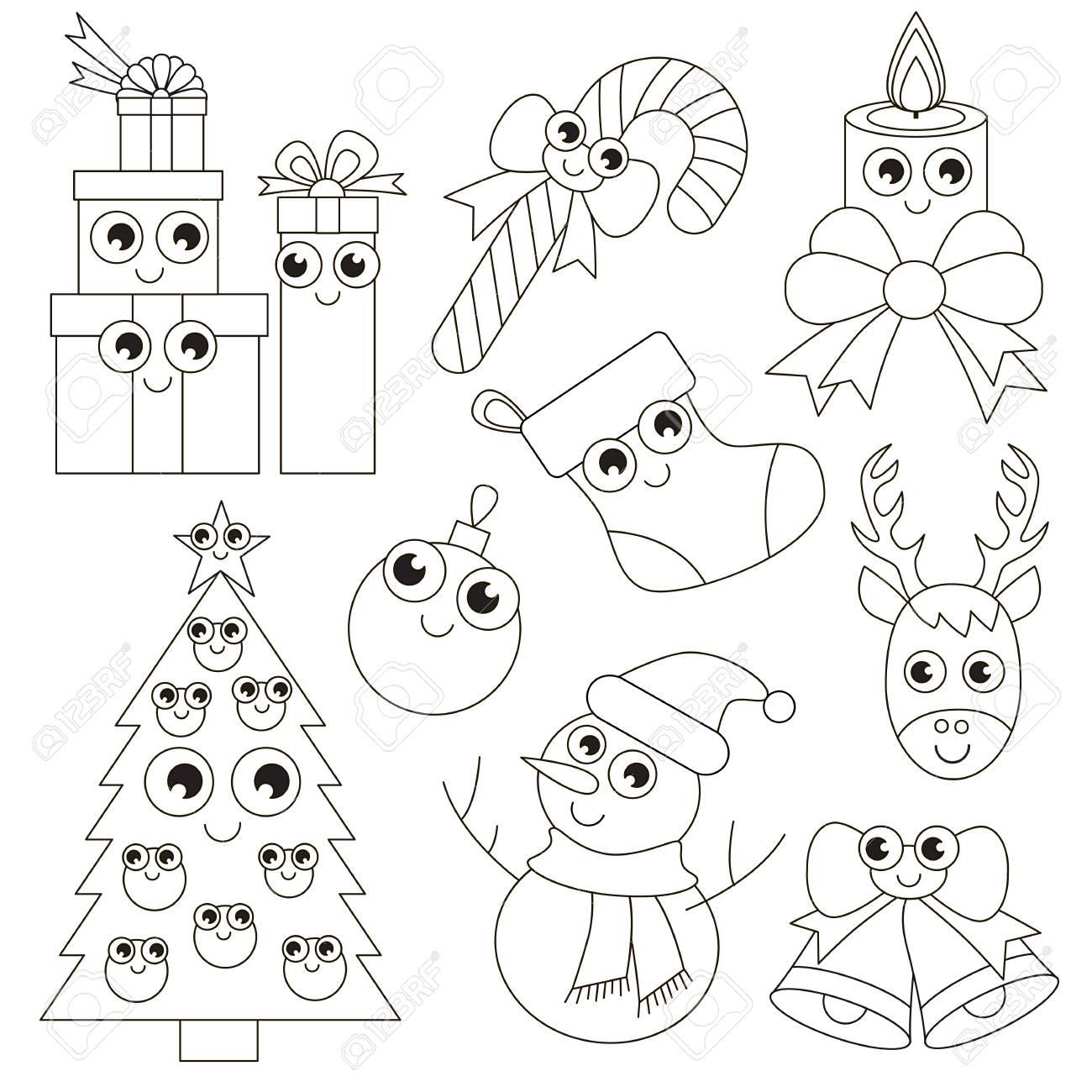 Divertidas Vacaciones De Navidad Para Colorear El Gran Libro Para
