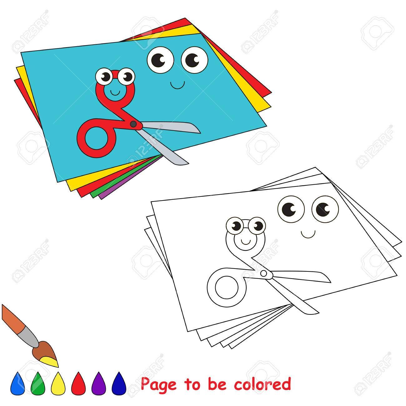 Divertidos Apliques De Papel De Arte Para Colorear, El Libro Para ...