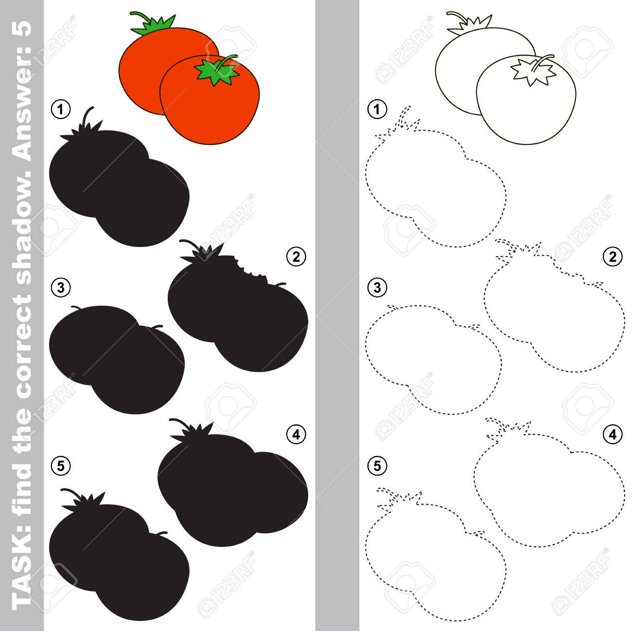 Tomato With Different Shadows To Find The Correct One Compare Royalty Free Cliparts Vectors And Stock Illustration Image 75746493 His first upload dates back to october 22, 2013. tomato with different shadows to find the correct one compare