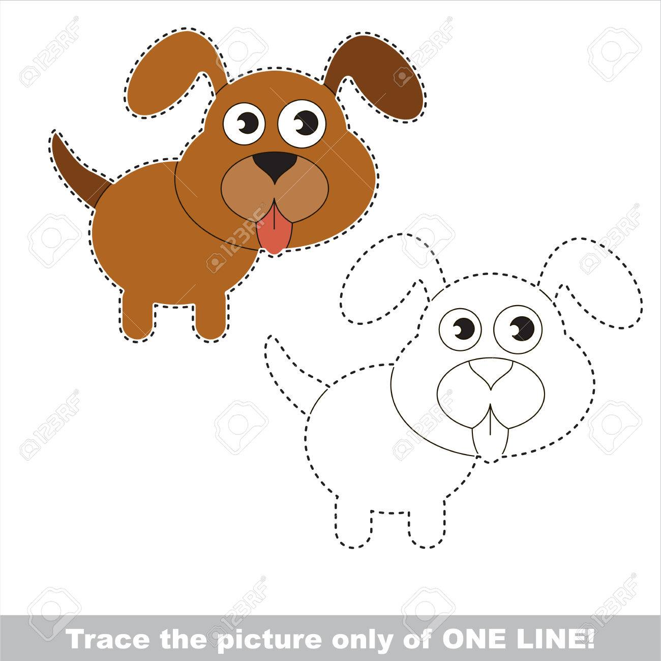 Easy To Trace Pictures For Kids