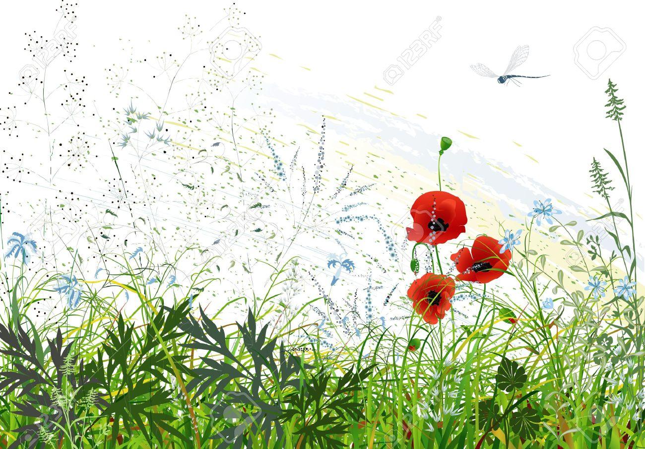 いる 風景 絵 トンボ の