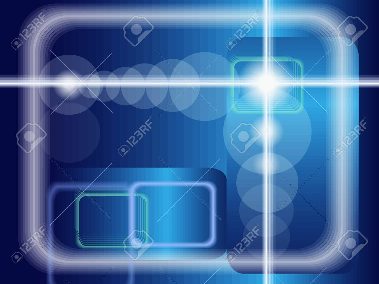 Abstract technological background Stock Vector - 8356348