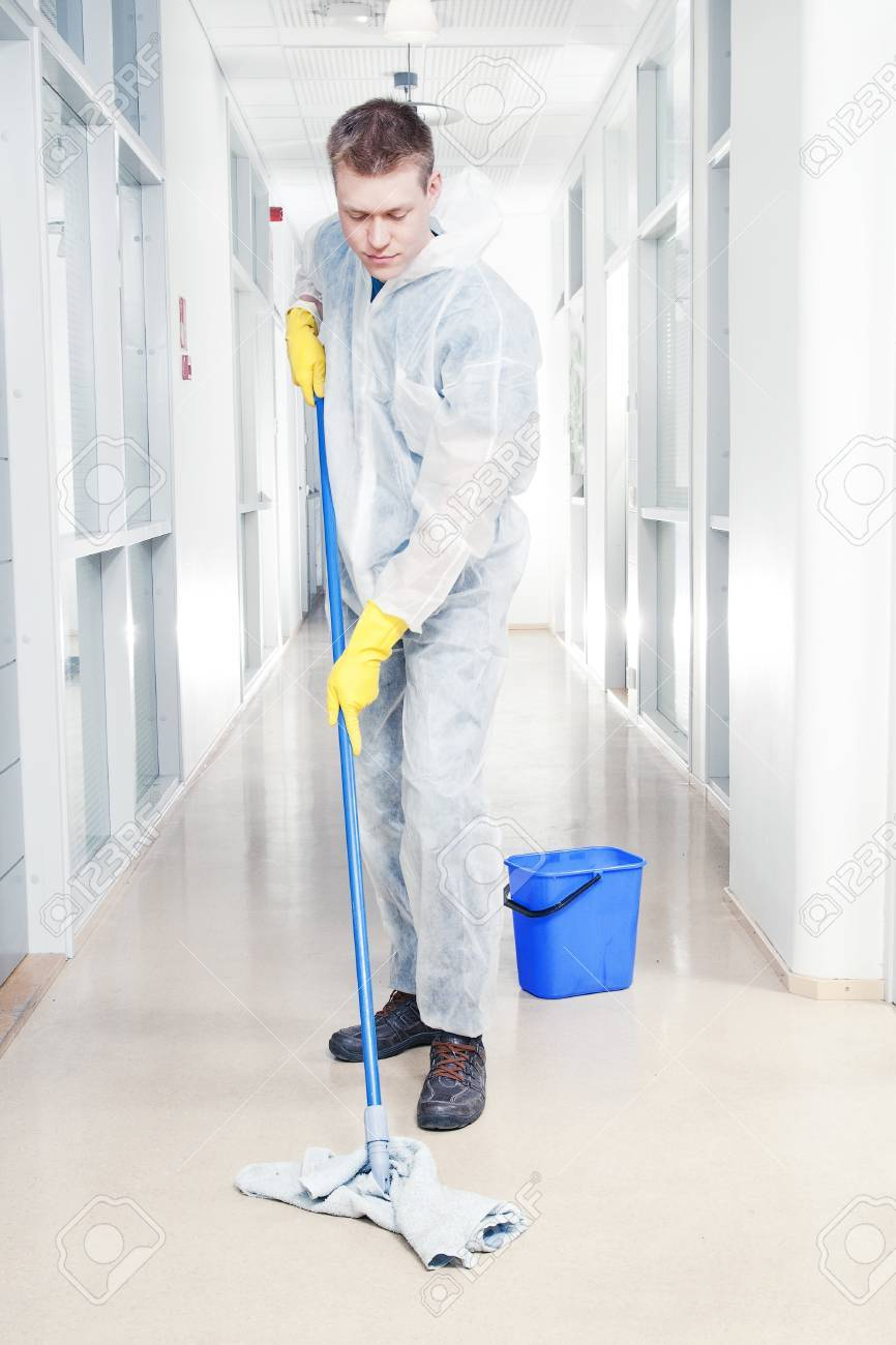 Mopping Kitchen Floor Mopping Floor Stock Photos Pictures Royalty Free Mopping Floor