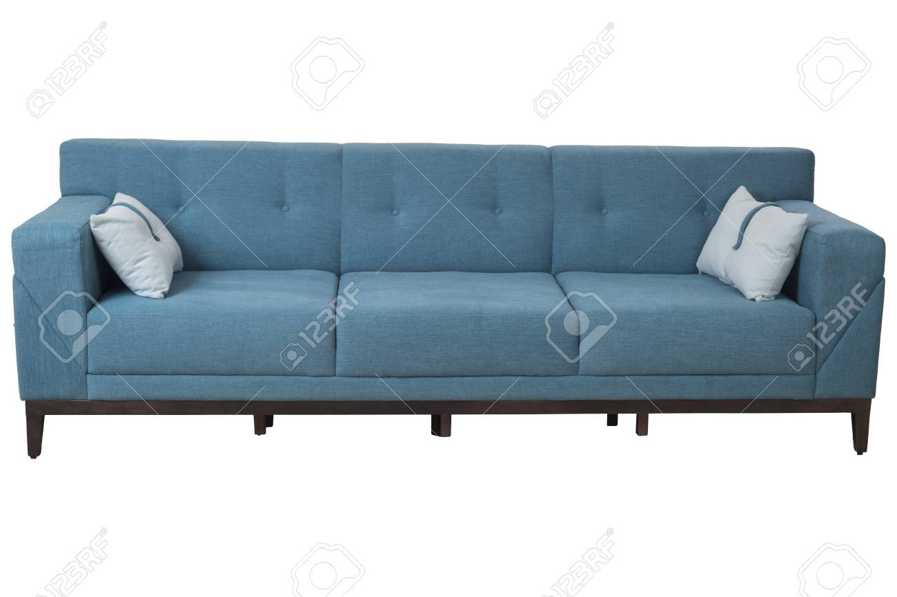 Brilliant Three Seats Cozy Modern Designed Sofa With Turquoise Color Fabric Uwap Interior Chair Design Uwaporg