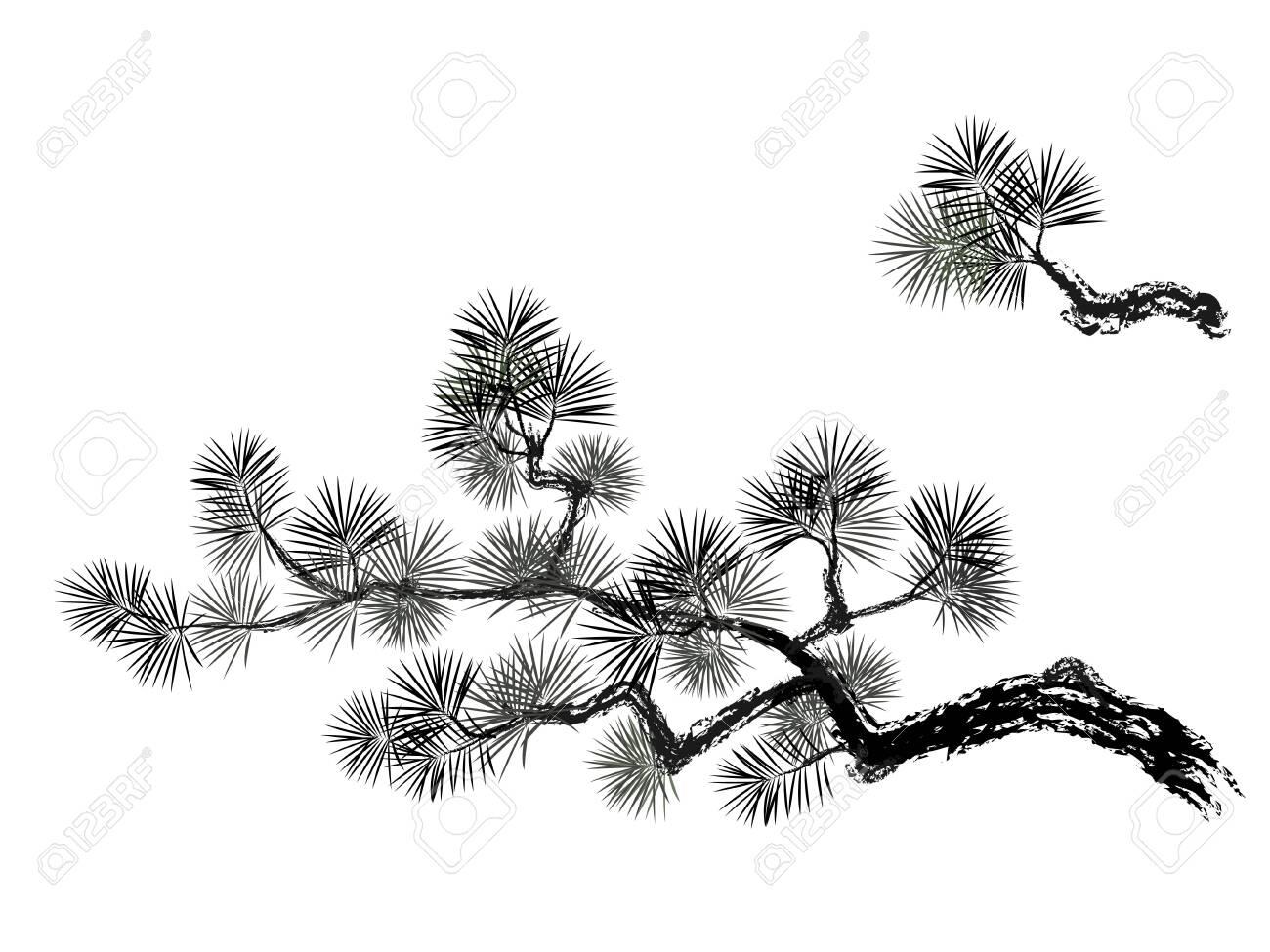 Vector illustration of pain tree - 124531603