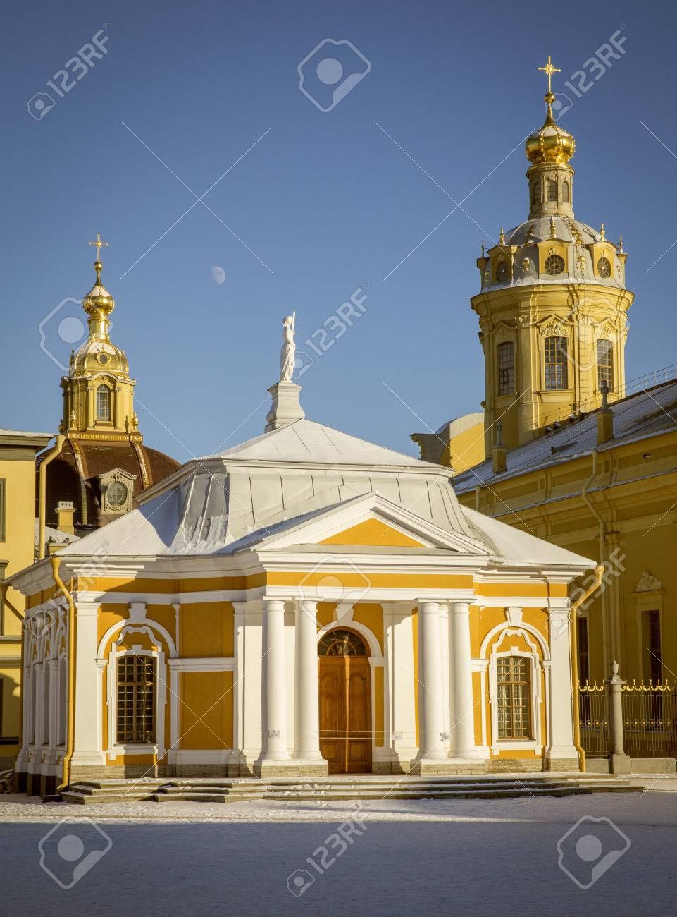 写真素材 , 教会のピーターおよびポールの要塞, サンクトペテルブルク, ロシアの建物